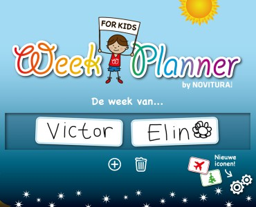 Week Planner for Kids